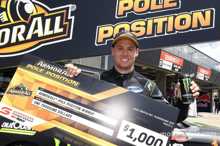 Waters takes Race 1 pole