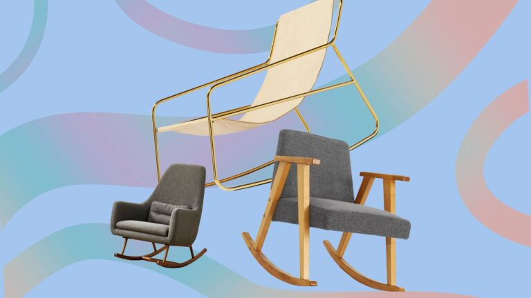 These Are Not Your Grandma's Rocking Chair