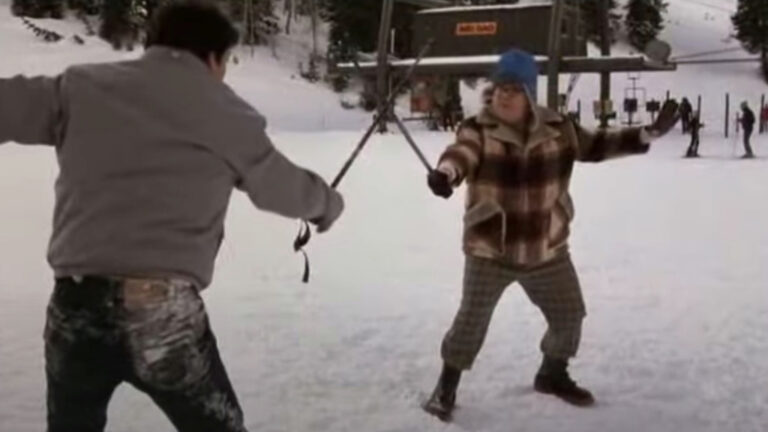 Maryland Man Jailed After Get Into Bloody Fight About Who Is The Better Skier