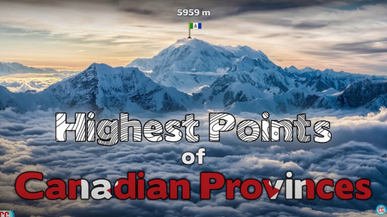 Can You Name The Highest Point in Each Canadian Province and Territory?
