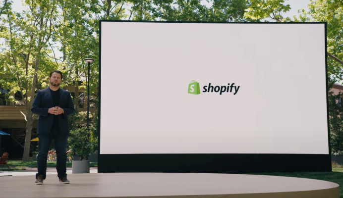 Google partners with Shopify on online shopping expansion – TechCrunch