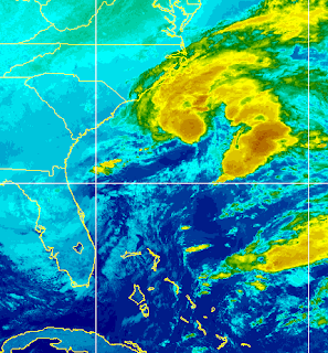 What's Going on Off the Southeast Coast? Tropical? Subtropical? Or Just Good Ole Weather??
