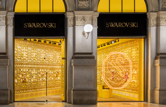 Swarovski Reboots With First 'Instant Wonder' Store, Collection I – WWD