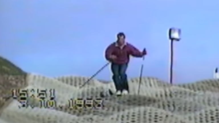 Dry Slope Mogul Skiing Is A Thing… Apparently!