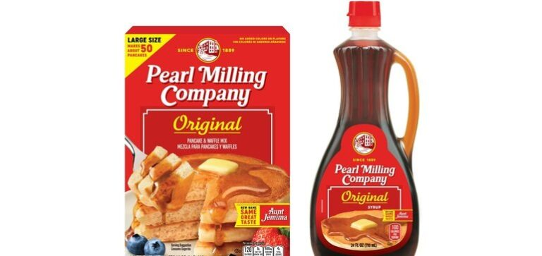 Aunt Jemima rebrands as Pearl Milling Company