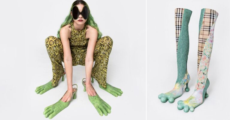 AVAVAV returns with more four-toed monstrous boots made from leftover luxury scraps
