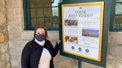 Mary Perkins on Keeneland Tours