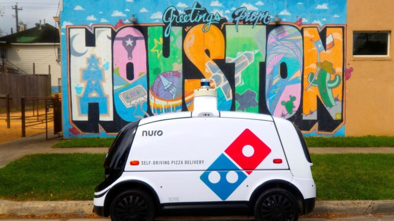 Domino's Launches New Pizza Delivery Robot in Houston