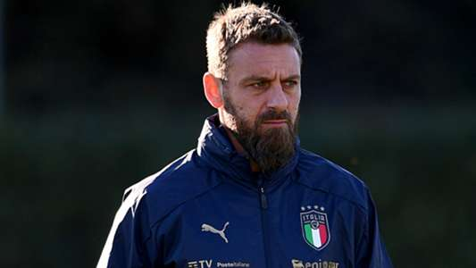 Italy assistant De Rossi hospitalised with Covid-19