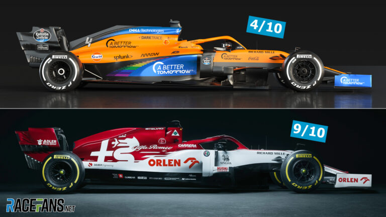 How the designer behind a classic F1 livery rates the modern grid's style · RaceFans