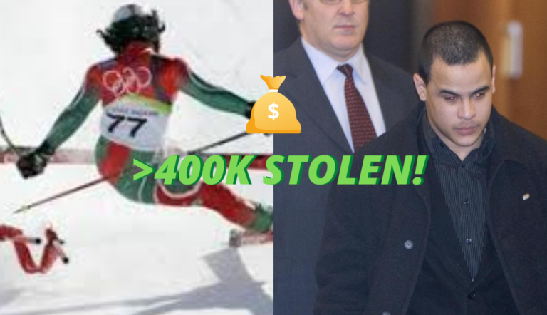 Madagascar Sent A Skier To The Olympics In 2006, He Stole $462,000 Two Years Later