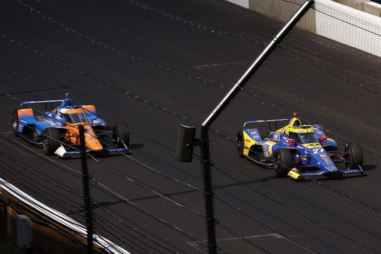 IndyCar IMS test to simulate hybrid boost with push-to-pass