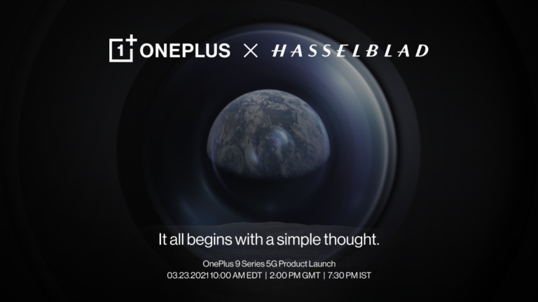 OnePlus Is Announcing the OnePlus 9 Series on March 23
