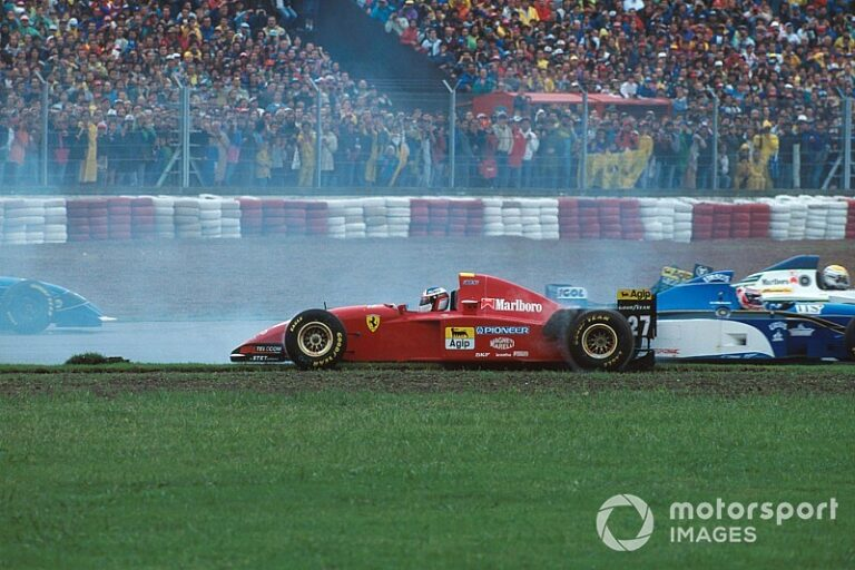 How to finish second after running back to the F1 pits