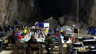 'We spent 40 days in a cave without sunlight or watches'