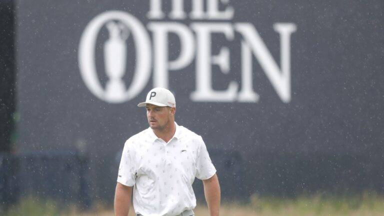 After a wild summer, can Bryson DeChambeau, The Open and Royal St. George's get along this week?