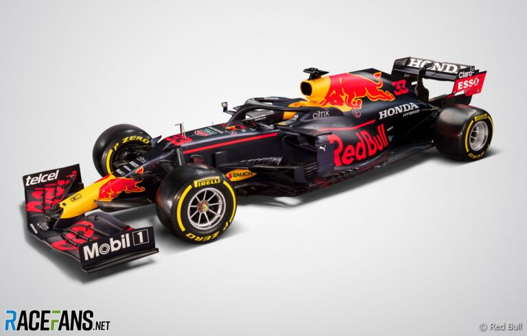 Red Bull reveals its new RB16B F1 car for 2021 · RaceFans