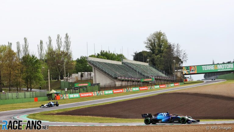 """""""Big effort"""" at Williams factory to replace parts after two Imola crashes"""