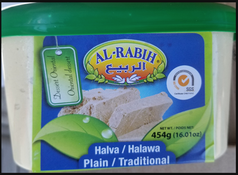 Company adds halva to its list of recalled products because of Salmonella testing