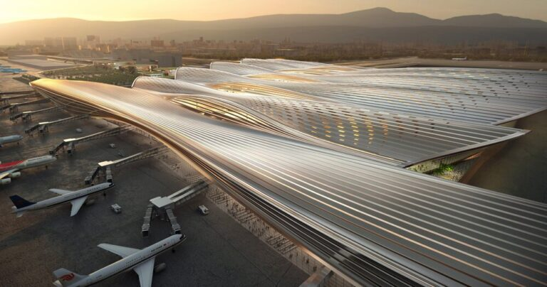 shenzhen to see a massive new terminal at bao'an airport by RSHP