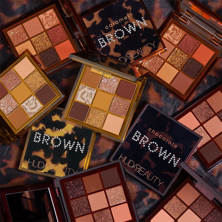 Huda Beauty Brown Obsessions Eyeshadow Palettes for Spring 2021