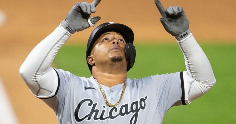 Yermin Mercedes homer in a blowout sparked another debate over baseball's unwritten rules