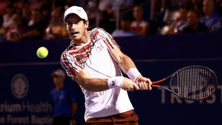 Murray Ends Rubin's Lucky Loser Stay in Winston-Salem   ATP Tour