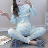 Fashion Cartoon Bear pregnant women's Mommy dress, Mammy and cotton mommy in spring and Autumn