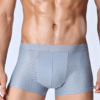 Breathable ice silk honeycomb nets boxer