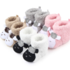Coral velvet lamb winter boots baby toddler shoes