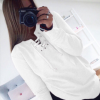 Fashion Punch with Long Sleeve Top Sweater Jacket