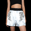TIGER WHITE EMBROIDERY SHORTS