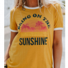 Spot 2020 summer Europe and the United States Amazon new round neck short-sleeved loose T letter printing pattern casual T-shirt