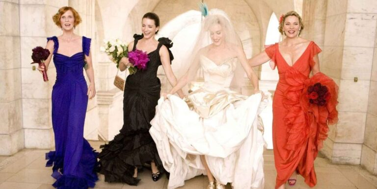 The 50 Best TV and Movie Wedding Dresses of All Time
