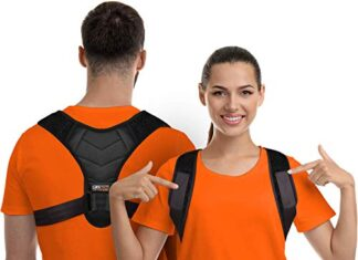 Posture Corrector for Men and Women, Upper Back Brace for Clavicle Support, Adjustable Back Straightener and Providing… -
