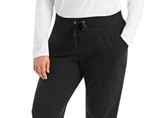 Just My Size Women's French Terry Capri -