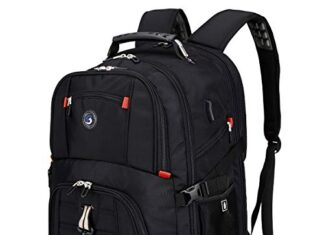 Travel bag best Laptop Backpack with USB-1 -