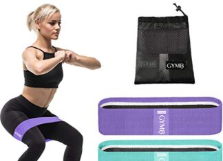 3 Fabric bands best Resistance Bands for Legs -
