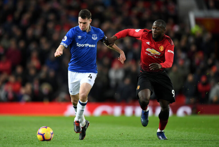 Michael Keane absent from Everton squad due to hamstring problem
