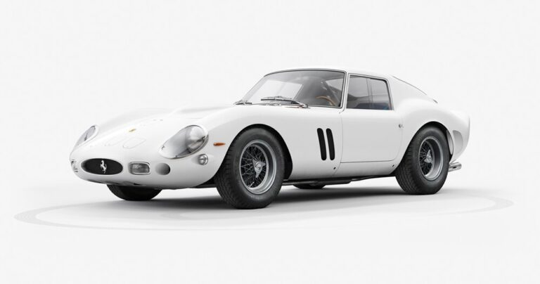 INK visualizes the 'monstrous' body of the 1962 ferrari 250 GTO