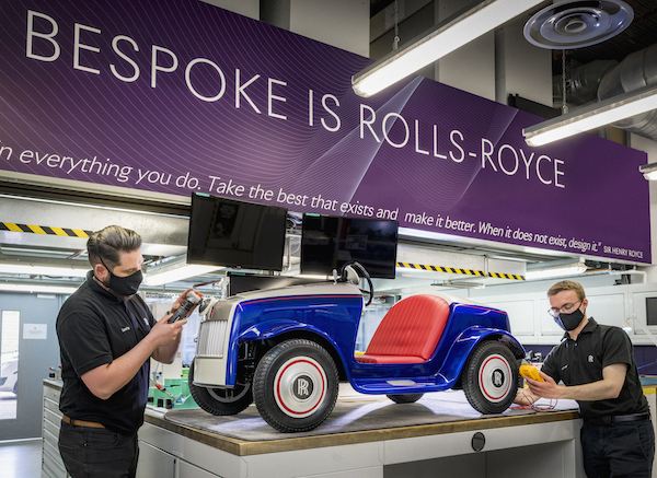 Rolls-Royce's Tiniest Car Ever, Designed To Cheer Up Little Drivers In Hospital