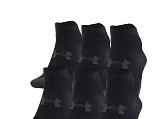 Under Armour Adult Performance Tech Low Cut Socks, 6-Pairs -