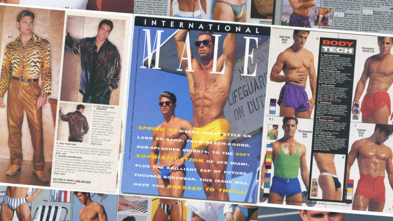 International Male: How One Mail-Order Catalog Changed Men's Fashion—and Queer Desire—Forever