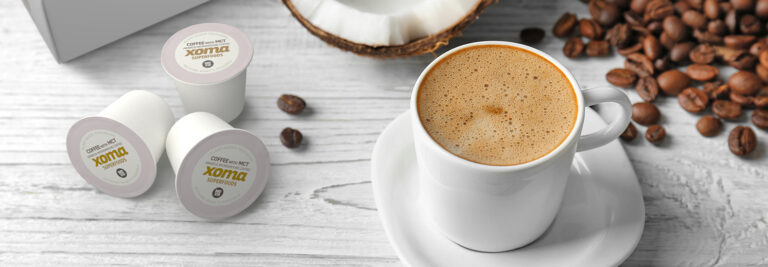 Xoma Superfoods delivers coffee options in single-serve, plant-based pods