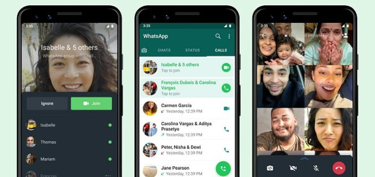 WhatsApp Looks to Join the Audio Social Trend with Group Calls Update