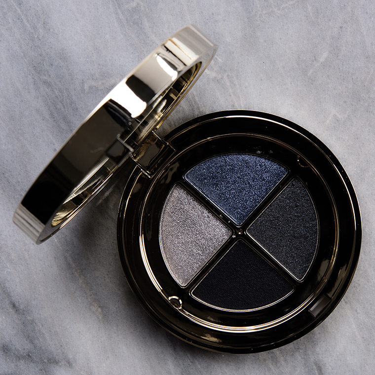 Clarins Midnight Eyeshadow Quad Review & Swatches