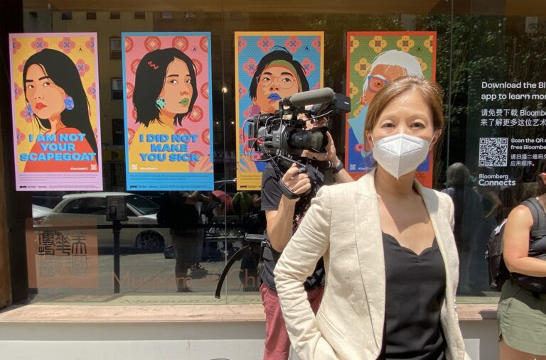 Protesters Demand the Resignation of Museum of Chinese in America Director