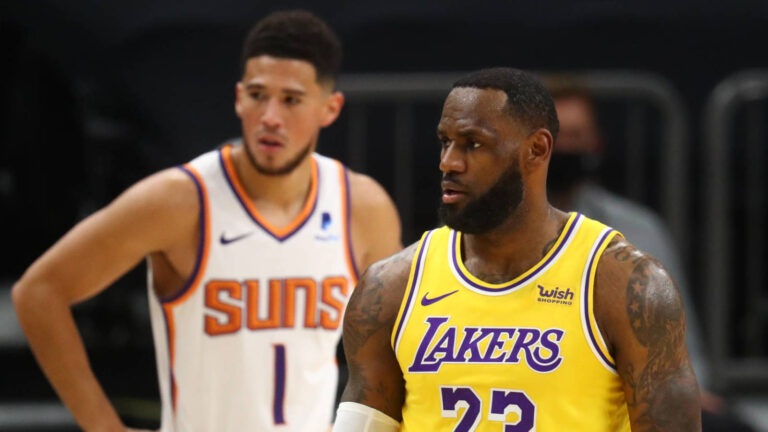 Lakers betting favorites over higher-seeded Suns