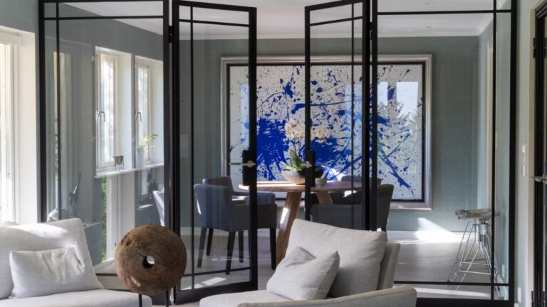 Metalform designs bespoke steel and glass partition walls