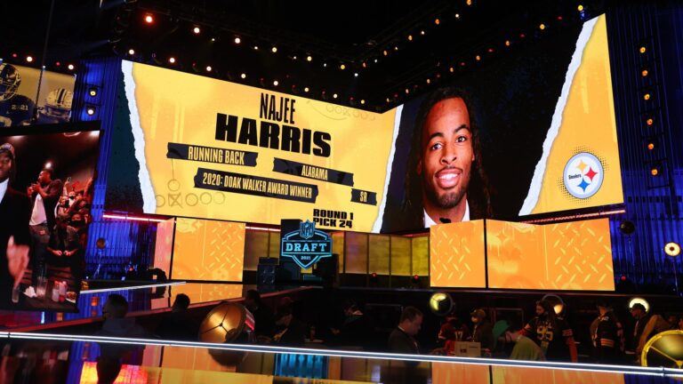 Drafting Najee Harris should not lead Steelers to overemphasize 'commitment' to running game